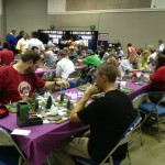 Gaming at Gen Con.