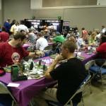 Gaming at Gen Con.