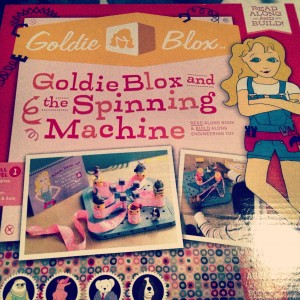 Goldieblox Packaging