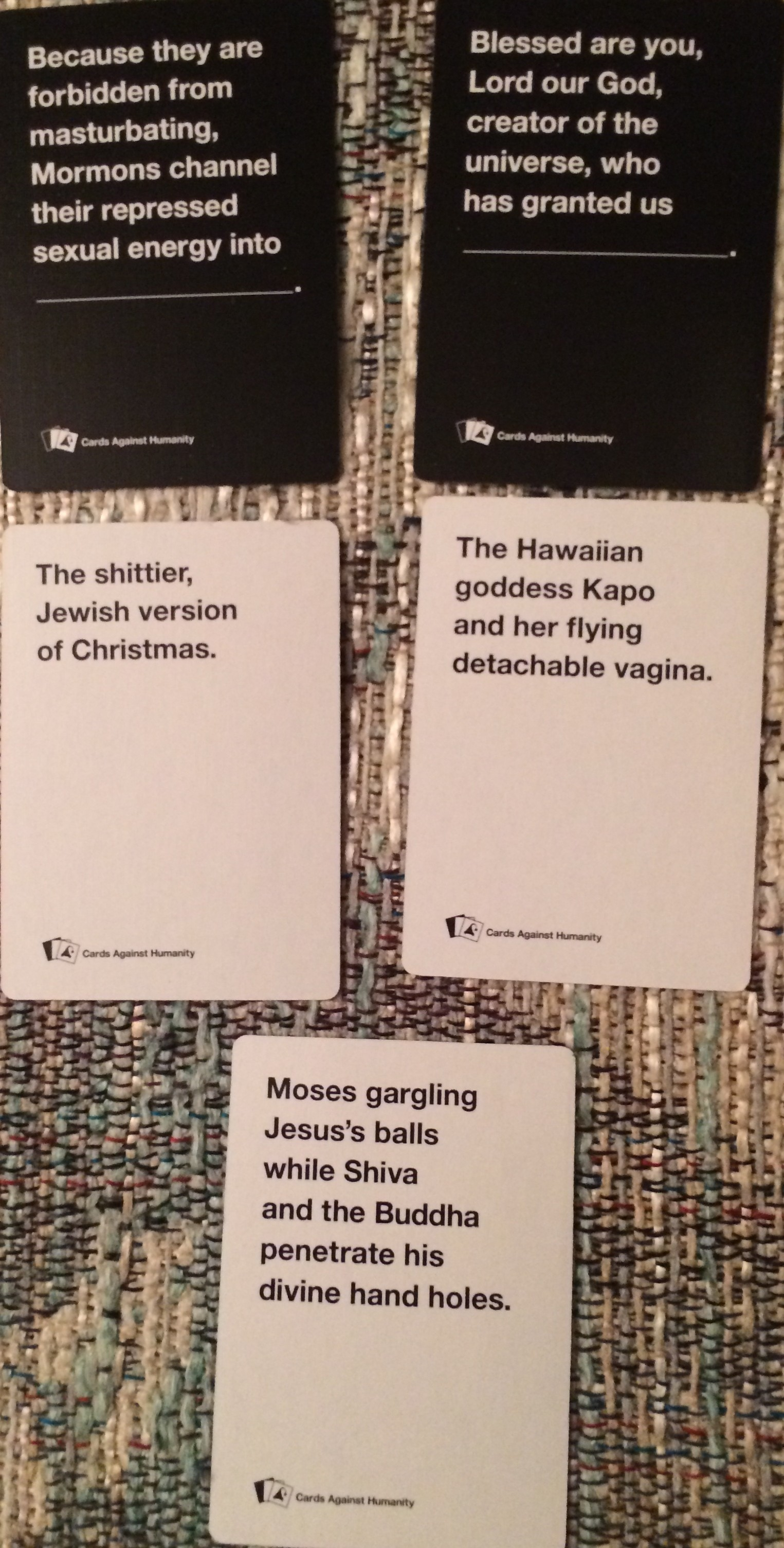 Cards Against Humanity: 12 Days Of Holiday Bullshit - Pure Geekery