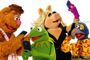 Muppets using technology!