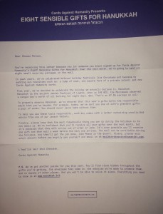 Letter 1