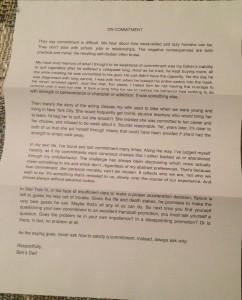 Letter 3 (TLDR)