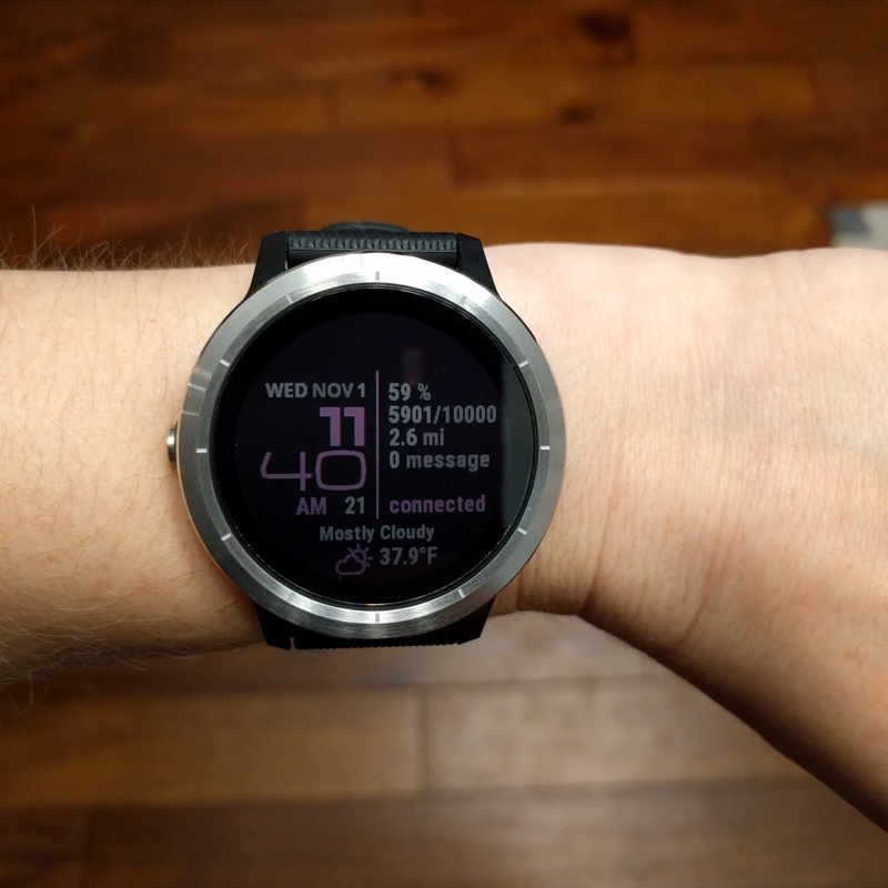 Product Review: Garmin Vivoactive 3 - Pure Geekery